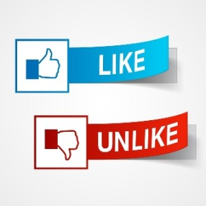 Like and UnLike Thumbs -31207040