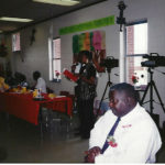 Parker Family Reunion 1994. I'm standing at the mic beside my Uncle Alton.